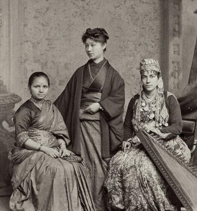 Three educated women